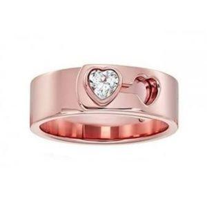 NEW Michael Kors Modern Brilliance Rose Gold Ring